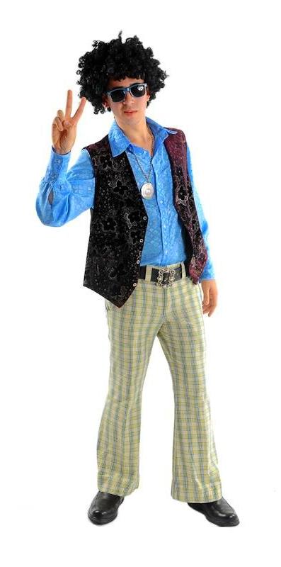 Fantasia Masculina Anos 60 Gopoúva - Fantasia Masculina de Pirata