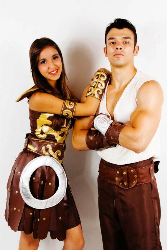 Fantasias de Carnaval índia Maia - Fantasia para Carnaval Casal