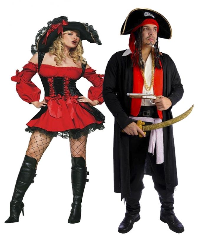 Locar Fantasia Pirata Criativa Várzea do Palácio - Fantasia Pirata Feminina Infantil