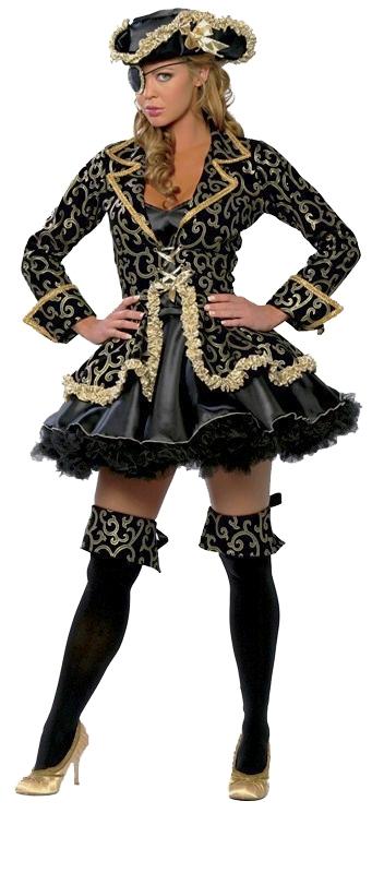Locar Fantasia Pirata de Luxo Bela Vista - Fantasia Pirata Feminina Infantil