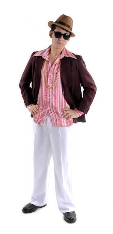 Quero Alugar Fantasia Masculina Anos 60 70 e 80 Macedo - Fantasia Masculina de Carnaval