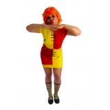 aluguel de fantasia feminina de carnaval valor Tremembé