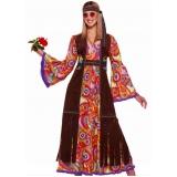 fantasia carnaval hippie Taboão