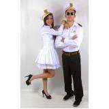 fantasia de carnaval para casal Água Azul