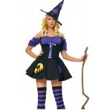 fantasia feminina bruxa Vila Curuçá
