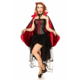 fantasia halloween plus size valor Santana