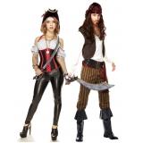 fantasia pirata criativa melhor preço Cumbica