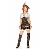 fantasia pirata de luxo feminina valor Paraventi