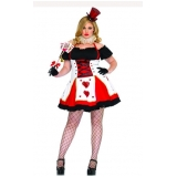 fantasia plus size halloween valor Ponte Rasa
