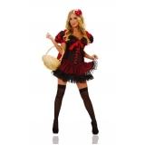 fantasia com corset