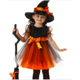 fantasia infantil de bruxa