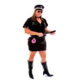 fantasias para carnaval de policial Capelinha