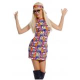 fantasia carnaval hippie