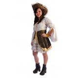 locação de fantasia pirata feminina preço Mooca
