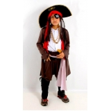 locação de fantasia pirata masculina preço Jardim Iguatemi