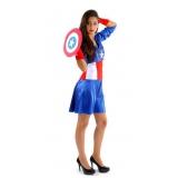 locar fantasia feminina de super herói Bosque Maia Guarulhos