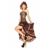 locar fantasia pirata feminina luxo Belém