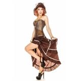 locar fantasia pirata feminina luxo Morros