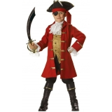 locar fantasia pirata infantil Casa Verde