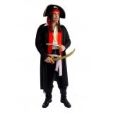 locar fantasia pirata masculina Bom Clima