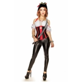 loja com fantasia pirata feminina Macedo