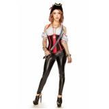 valor de fantasia com corset Vila Barros