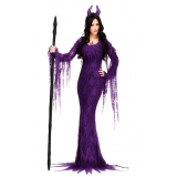 valor de fantasia feminina de halloween Itapegica
